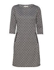 Revar 1 Dress - GREY DAWN MIX
