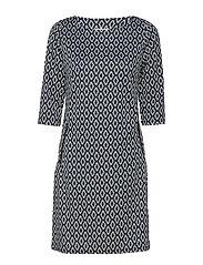 Revar 1 Dress - REFLECTING POND MIX
