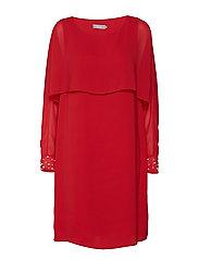 Asfoil 2 Dress - BARBADOS CHERRY