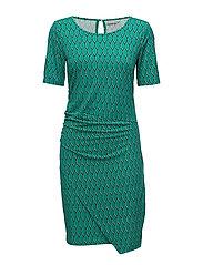FXTirey 2 Dress - ULTRAMARINE GREEN MIX