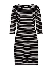Beline 1 Dress - BLACK MIX