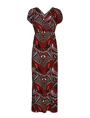 FRDIAFRICA 1 Dress - FIERY RED MIX