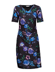 FRCIPRETTY 3 Dress - BLACK MIX