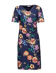 FRCIPRETTY 3 Dress - MARITIME BLUE MIX
