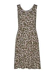 f5efcac18e90 FRDIDOTUM 1 Dress - PETIT - GREEN COMBO