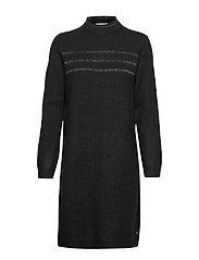 FRFIALLY 3 Dress - BLACK MELANGE