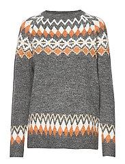 FRFISLAND 1 Pullover - RAW MELANGE MIX