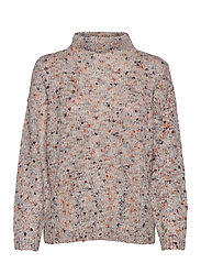 FRFISPOT 1 Pullover - TAWNY PORT MIX