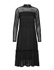 FRGIMESH 2 Dress - BLACK MIX