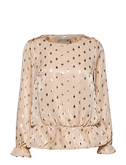 FRGAFOIL 3 Blouse - FROSTED ALMOND MIX