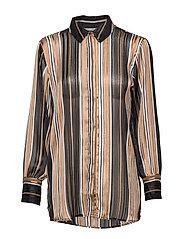 FRGASTRIPE 4 Shirt - BLACK MIX