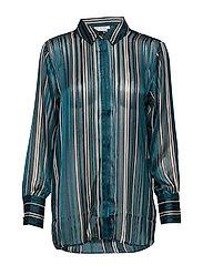 FRGASTRIPE 4 Shirt - REFLECTING POND MIX