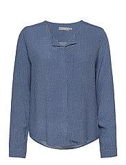 FRHAZAVISK 1 Shirt - BRUNNERA BLUE MIX