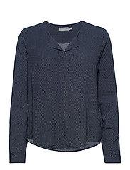 FRHAZAVISK 1 Shirt - NAVY BLAZER MIX