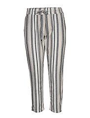 FRJAHAY 2 Pants - NAVY BLAZER MIX