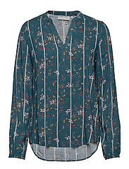 FXTIJOR 4 Blouse - REFLECTING POND MIX
