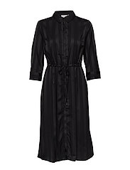 FXSUSTRIPE 1 Dress - BLACK