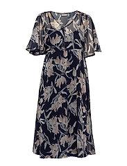 FRIPCHIFLOW 1 Dress - NAVY BLAZER MIX WITH STRING