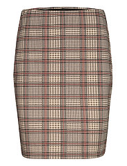 FRLECHECK 2 Skirt - BARN RED MIX