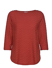 FRLEJACQ 1 T-shirt - BARN RED