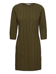 FRMEVAR 1 Dress - DARK OLIVE MIX
