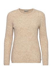 FRMESANDY 1 Pullover - BEIGE MELANGE