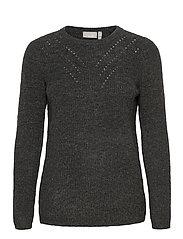 FRMESANDY 1 Pullover - BLACK MELANGE