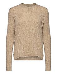 FRMEBLOCK 1 Pullover - BEIGE MELANGE
