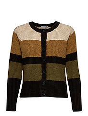 FRMEBLOCK 3 Cardigan - CATHAY SPICE MIX