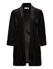FRNEVELOUR 4 Cardigan - BLACK