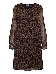 FRMALEO 1 Dress - CHOCOLATE FONDANT MIX