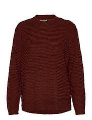 FRLEMERETTA 1 Pullover - BURNT HENNA MELANGE