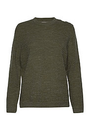 FRLEMERETTA 1 Pullover - HEDGE MELANGE