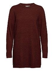 FRMERETTA 3 Pullover - BURNT HENNA MELANGE