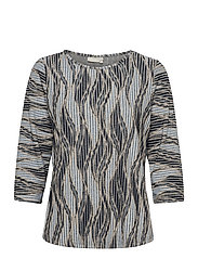 FRPEMISO 1 T-shirt - NAVY BLAZER MIX