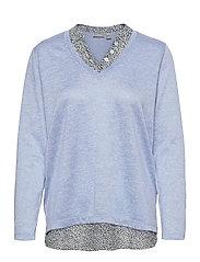 FRPEREXAN 1 Pullover - BRUNNERA BLUE MELANGE