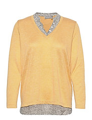 FRPEREXAN 1 Pullover - OCHRE MELANGE