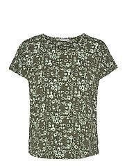 FRVEDOT 1 T-shirt - HEDGE MIX