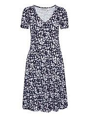 FRVEDOT 2 Dress - NAVY BLAZER MIX