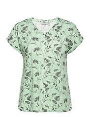 FRVEIREG 1 T-shirt - AQUA FOAM MIX