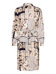 FRVACRINKLE 5 Dress - NAVY BLAZER MIX