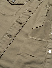 Fransa - FRVOTWILL 1 Jacket - spijkerjassen - hedge - 4