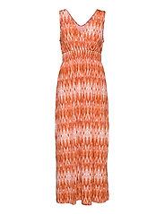 FRAMSELFA 2 Dress - DUSTY ORANGE MIX