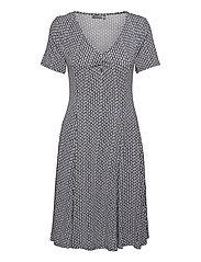 FRAMDOT 5 Dress - VINTAGE INDIGO GRAPHIC MIX