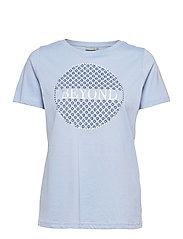 FRPETEE 2 T-shirt - BRUNNERA BLUE