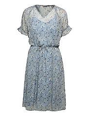 FRALCHIFLOW 2 Dress - CASHMERE BLUE MIX