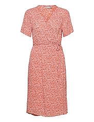 FRALCRINKLE 2 Dress - DUSTY ORANGE MIX