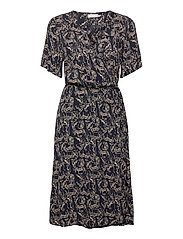 FRALCRINKLE 2 Dress - NAVY BLAZER MIX