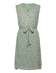 FRALCRINKLE 3 Dress - CLOVER GREEN MIX