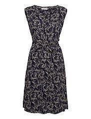 FRALCRINKLE 3 Dress - NAVY BLAZER MIX